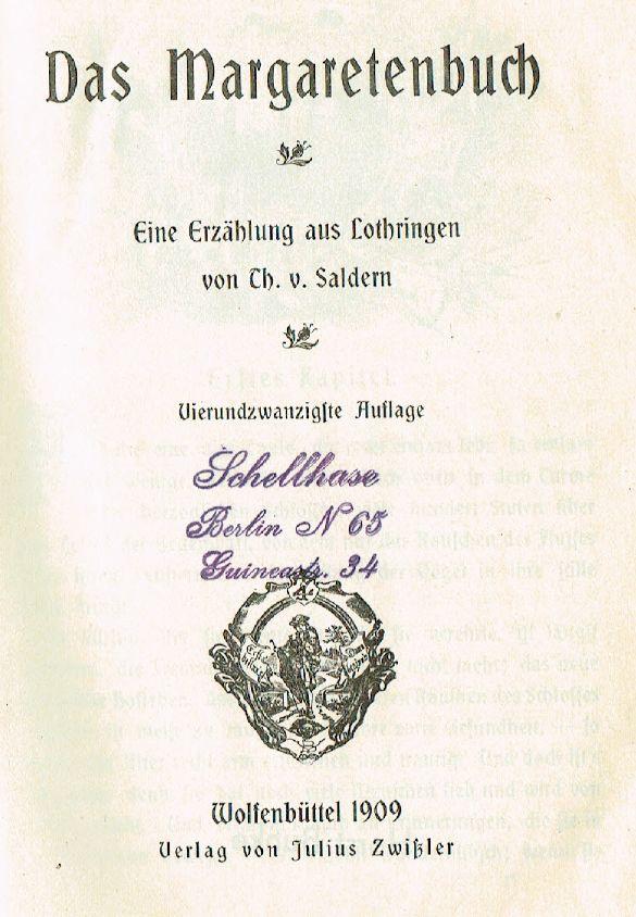 von_Saldern_Thusnelda_1885_Margartenbuch